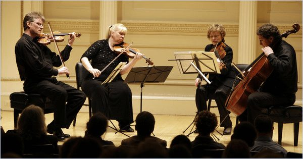 Pro Arte Quartet at Carnegie Hall