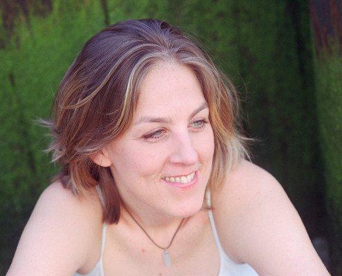Ingrid Jensen in Brooklyn, NY. June 2005photo by Angela Jimenez