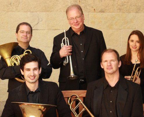 The Wisconsin Brass Quintet, Fall 2014.