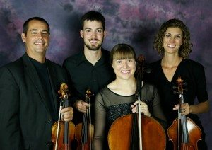 The Permian Basin String Quartet.
